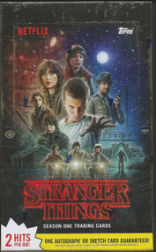 2018 Topps Stranger Things Season One Hobby Box