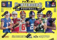 2018 Panini Contenders Football Blaster Box