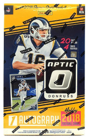 2018 Donruss Optic Football Hobby Box