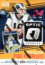 2018 Donruss Optic Football Blaster Box