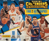 2018/19 Panini Contenders Basketball Hobby 12 Box Case