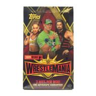 2019 Topps WWE Road To Wrestlemania Hobby Box