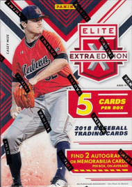 2018 Panini Elite Extra Edition Baseball Blaseter Box