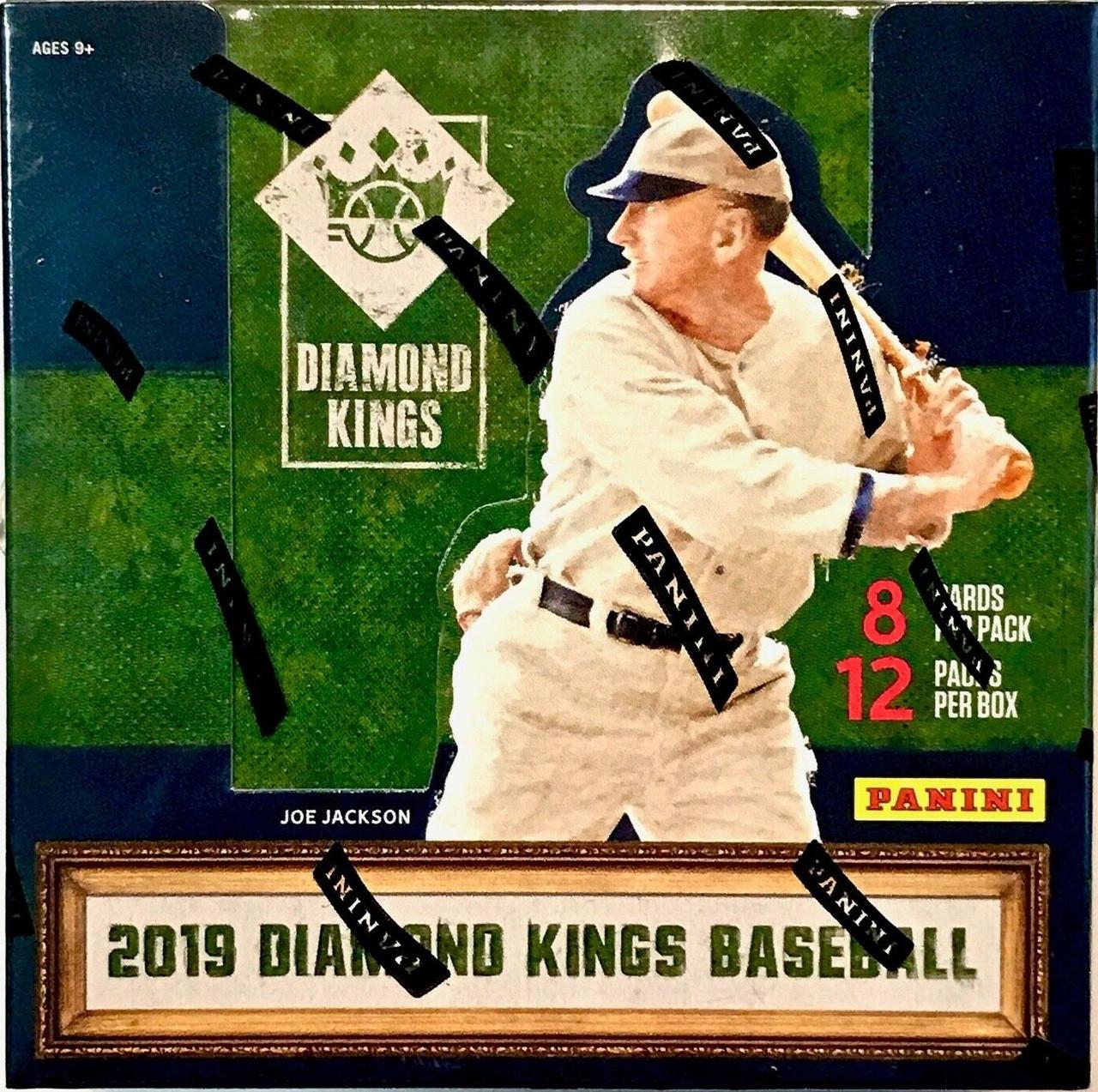 2019 Panini Donruss Diamond Kings Baseball Hobby Box Bp