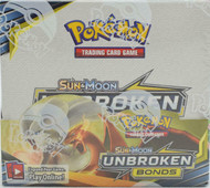 Pokemon Sun & Moon Unbroken Bonds Booster Box