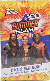 2019 Topps WWE SummerSlam Hobby Box