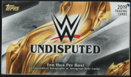 2019 Topps WWE Undisputed Wrestling Hobby Box