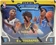 2019/20 Panini Contenders Draft Basketball Hobby Box