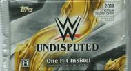 2019 Topps WWE Undisputed Wrestling Hobby Pack