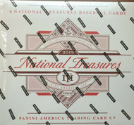 2019 Panini National Treasures Baseball 4 Box Hobby Case