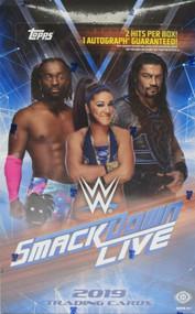 2019 Topps WWE Smackdown Live Hobby Box