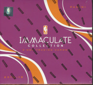 2018/19 Panini Immaculate Basketball Hobby 5 Box Case