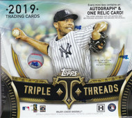 2019 Topps Triple Threads Baseball Hobby Box