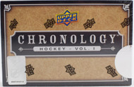 2018/19 Upper Deck Chronology Hockey Hobby Box