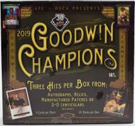 2019 Upper Deck Goodwin Champions Hobby Box