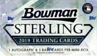 2019 Bowman Sterling Baseball Hobby Pack