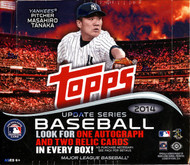 2014 Topps Update Series Baseball Jumbo HTA Box