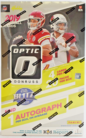 2019 Panini Donruss Optic Football Hobby Box