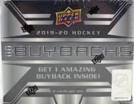 2019/20 Upper Deck Buybacks Hockey Hobby Box