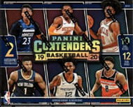 2019/20 Panini Contenders Basketball 12 Box Hobby Case