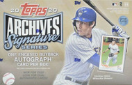 2020 Topps Archives Signature Series Baseball Box