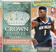 2019/20 Panini Crown Royale Basketball Hobby Box