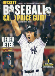 Beckett Baseball Card 2020 Annual Price Guide #42 42nd Edition