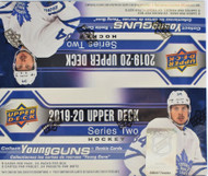 2019/20 Upper Deck Series 2 Hockey Retail Box