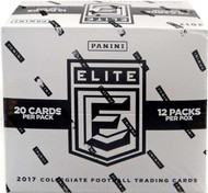 2017 Panini Elite Draft Picks Collegiate Football Fat Pack Cello Box