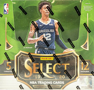 2019/20 Panini Select Basketball 12 Box Hobby Case