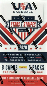 2020 Panini USA Stars and Stripes Baseball Hobby Box