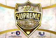 2014 Topps Supreme Baseball Hobby Box