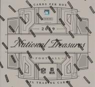 2019 Panini National Treasures Football Hobby 4 Box Case