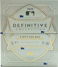 2020 Topps Definitive Baseball Hobby 3 Box Case