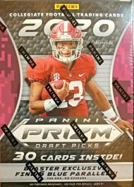 2020 Panini Prizm Collegiate Draft Picks Football Blaster Box