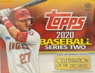 2020 Topps Series 2 Baseball Jumbo Box