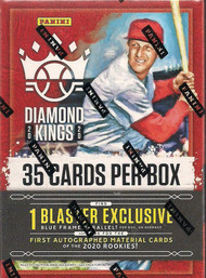 2020 Panini Diamond Kings Baseball Blaster Box