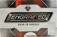 2019/20 Upper Deck Engrained Hockey Hobby Box