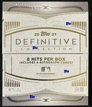 2021 Topps Definitive Baseball Hobby Box