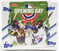 2021 Topps Opening Day Baseball Hobby Box