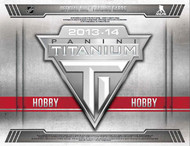 2013/14 Panini Titanium Hockey Hobby Box