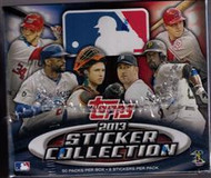 2013 Topps Sticker Collection Baseball Hobby Box