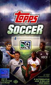 2013 Topps MLS Soccer Hobby Box