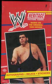 2012 Topps WWE Heritage Hobby Box