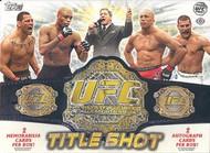 2011 Topps UFC Title Shot Hobby Box