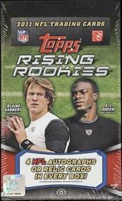 2011 Topps Rising Rookies Football Hobby Box