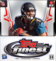 2014 Topps Finest Football Hobby 8 Box Case