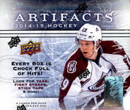 2014/15 Upper Deck Artifacts Hockey Hobby Box