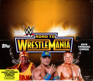 2015 Topps WWE Road To Wrestlemania Hobby Box
