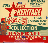 2015 Topps Heritage '51 Collection Baseball Hobby Box